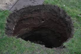 hole garden