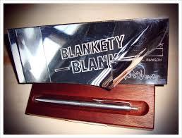 blankety blank chq book