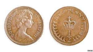 Two ha'pennys
