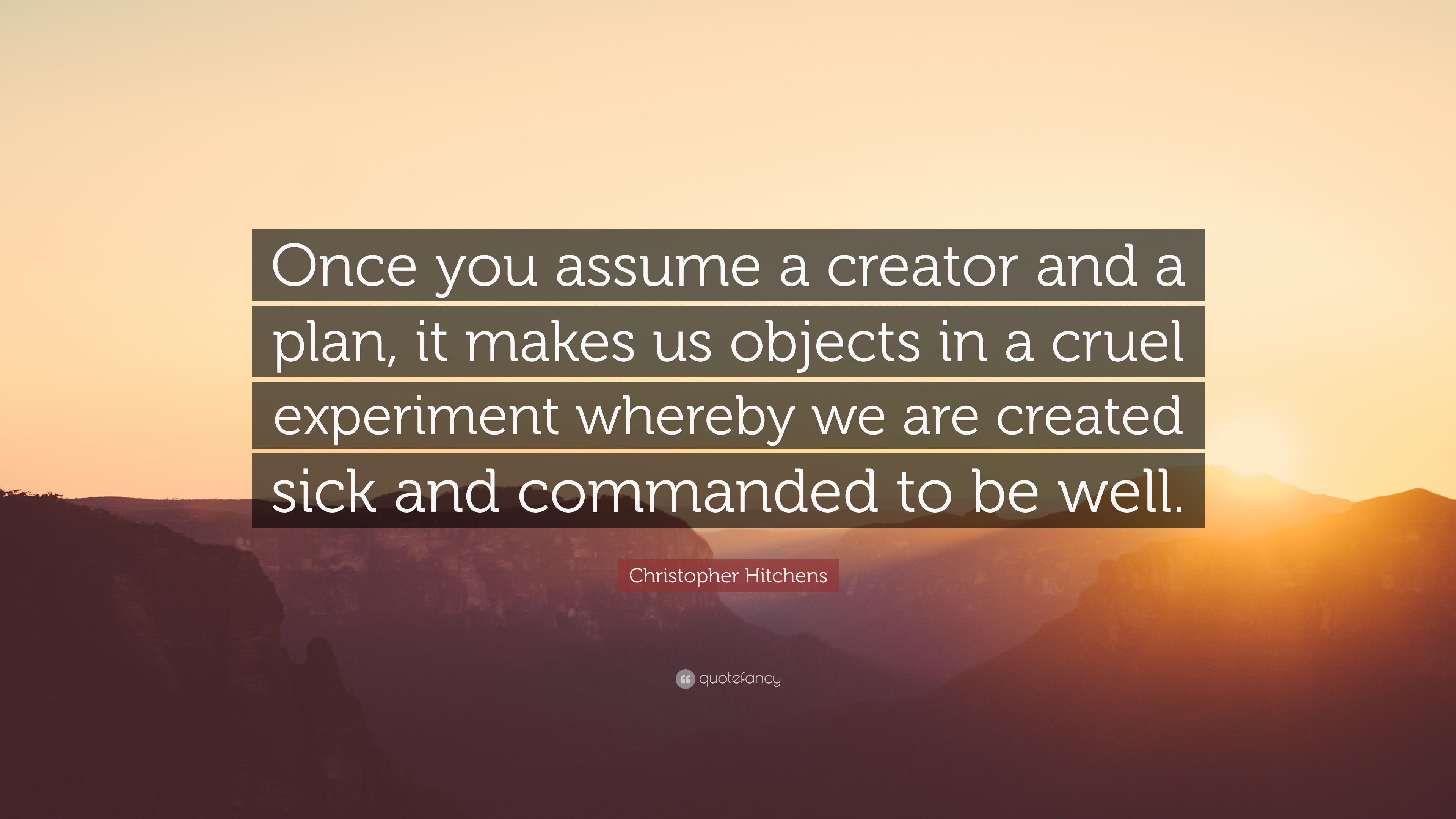 192241-Christopher-Hitchens-Quote-Once-you-assume-a-creator-and-a-plan-it